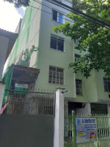 Condomínio do Edifício Jamaica, localizado na Tijuca.