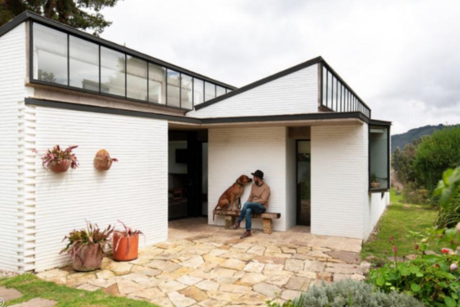 Casa do caseiro / L. Oberlander. Image © Simón Bosch