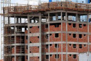 Prédio em construção