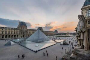 Museu do Louvre, na França. Foto: Divulgação/Museu do Louvre