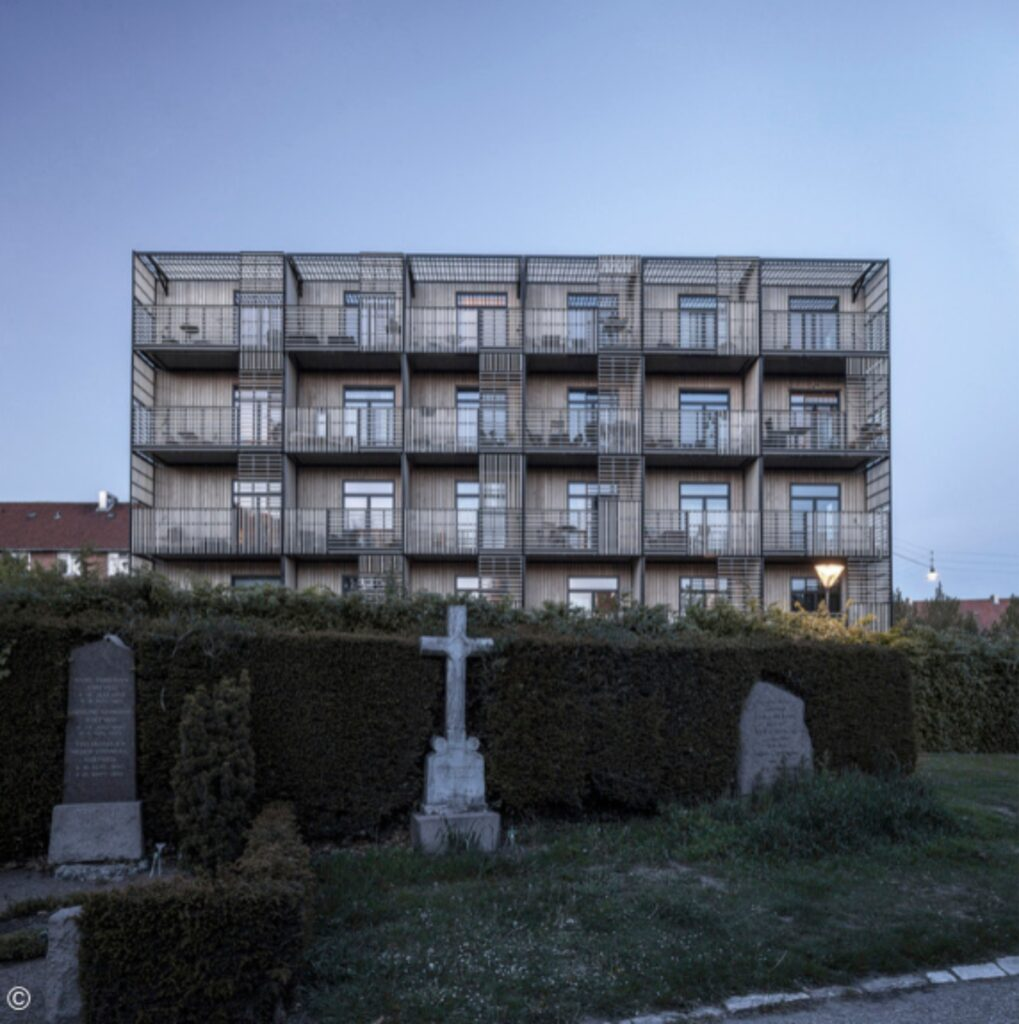 Allé Youth Housing / WE architecture. Certificado por Nordic Swan. Image © Rozbeh Zavari